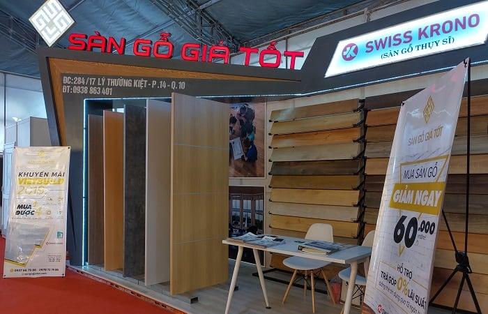 Showroom sàn gỗ giá tốt